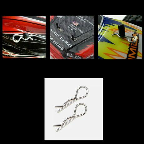 Clip p/ Capota Body de carro RC de escala 1/8 e 1/5 ou 1/10 e 1/16
