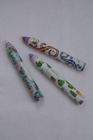 Ластики в форме карандаша