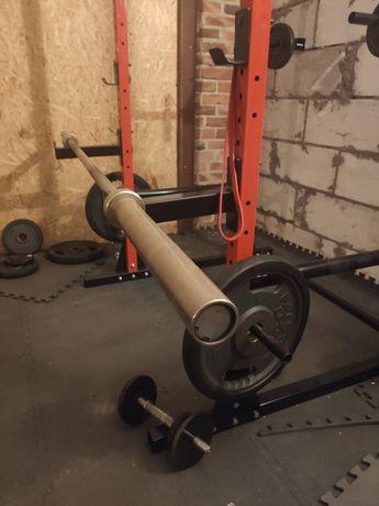 Gryf olimpijski 20kg 220cm
