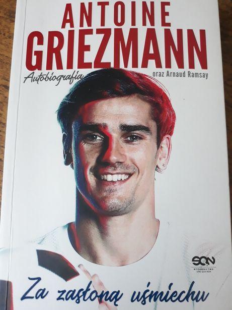 """Sprzedam/zamienię książkę Antoine Griezmann - """"Za Zasłoną Uśmiechu"""""""