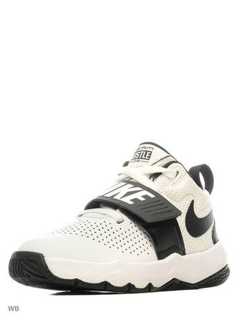 Кожанные кроссовки Nike Team Hustle 29,5р