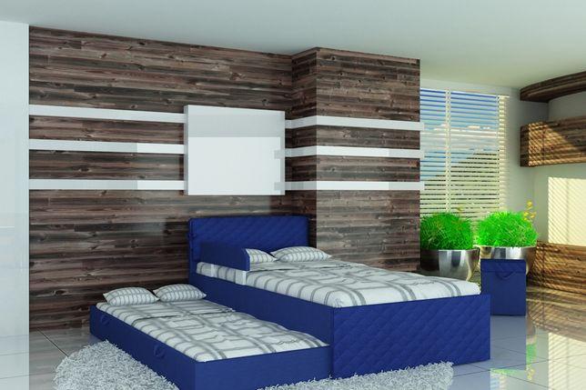 Piętrowe łóżko dla dzieci, łóżko dziecięce, tkanina, 3 wymiary, raty