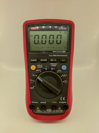 Мультиметр UNI-T UT61D (автомат)