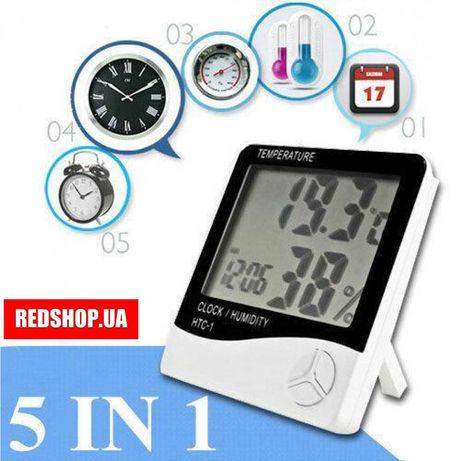 HTC-1 часы будильник домашняя метеостанция термометр гигрометр