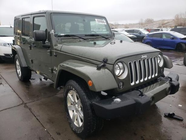 2016 Jeep Wrangler Unlimited Sahara из США!