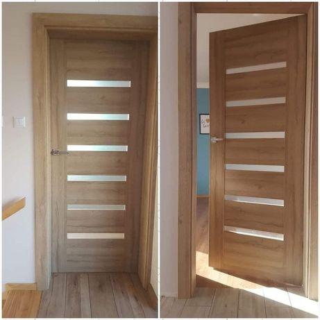 Drzwi Wewnętrzne Kompleksowe Wyposażanie Domów z Ościeżnicami