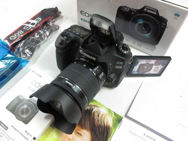 Canon 80D na Caixa tudo original, fatura Fnac com garantia, Estado TOP