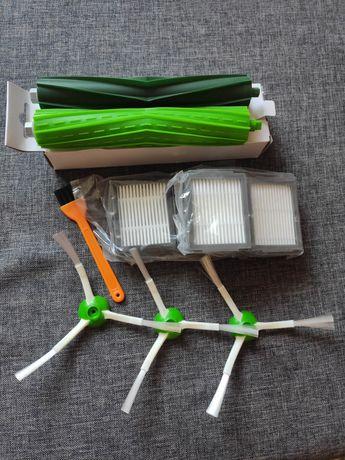 Akcesoria części zamienne filtry szczotki rolki iRobot Roomba e5 e6 i7