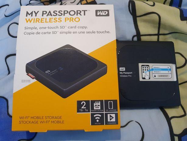 WD My Passport Wireless Pro 2 TB GARANTIA