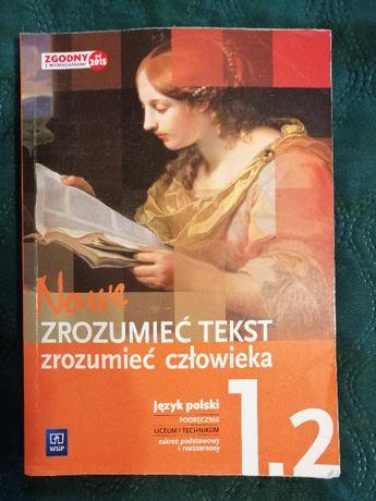 podręcznik nowe zrozumieć tekst zrozumieć człowieka język polski 1.2