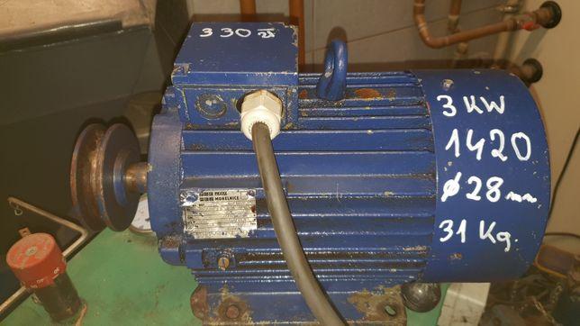 Silnik elektryczny 3 kw 1420 obr