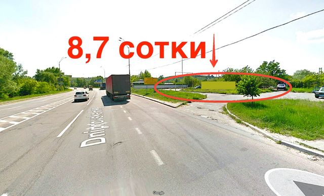 Продажа 9 соток. Киев, Фасад Днепр шоссе. АЗС, СТО, любой бизнес