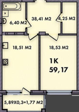 Продам 1к квартиру в ЖК «Печерск Плаза-52 Перлина» вул. Бойчука, Центр