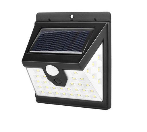Lampa Solarna 40 Led czujnik ruchu i zmierzchu