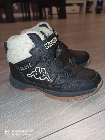 Buty buciki chłopięce zimowe ocieplane Kappa