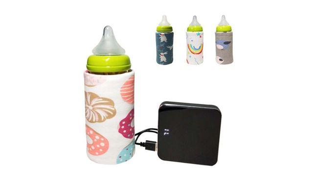 Продам мобильний подогреватель-чехол для детских бутылочек c USB