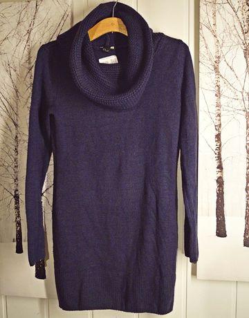 Sweter/sukienka H&M [S]