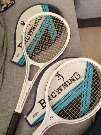 Rakiety tenisowe Browning Bt400 i 500 Lady.