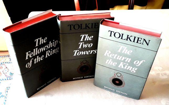 J R R Tolkien - Trilogia Senhor dos Anéis - George Allen & Unwin 1968