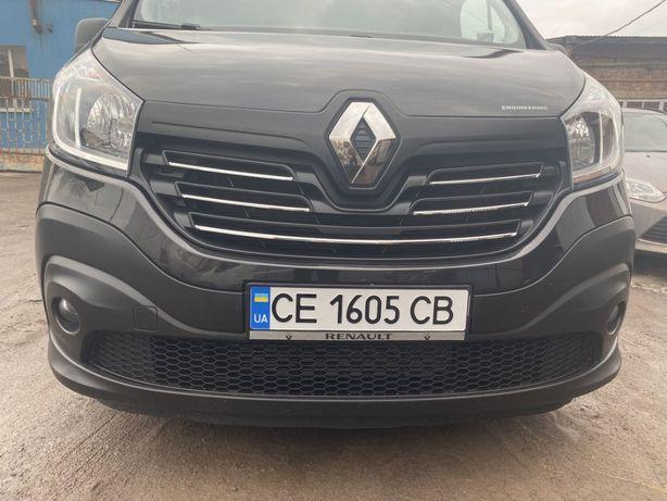 Хром накладки Renault Trafic 2014-2019 Opel Vivaro решетка ручки