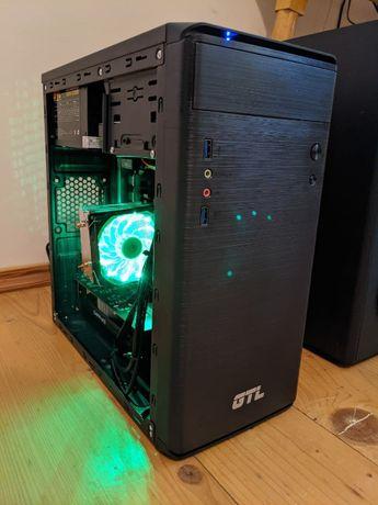 Игровой компьютер ПК (6 ядер / 12 потоков, 16 ГБ ОЗУ, RX 460 2 ГБ)