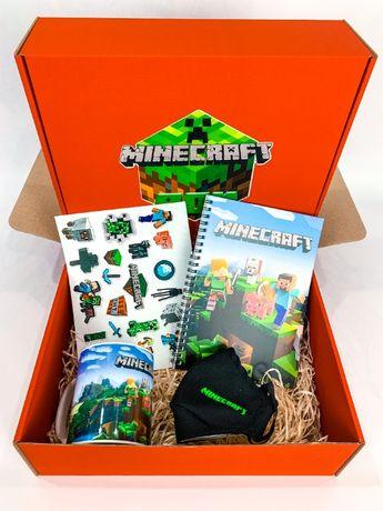 """Подарочный набор Minecraft Box Майнкрафт Бокс """"Mini Box"""" маска чашка"""