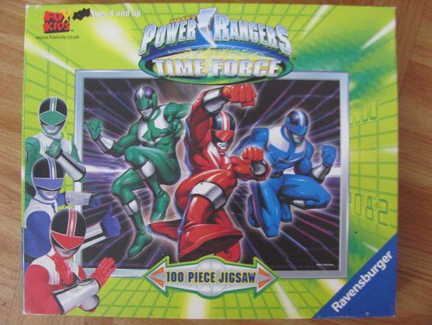 Ravensburger 100 elementów Power Rangers - Time Force