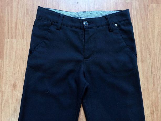 Брюки штаны темно синие 8-10 лет