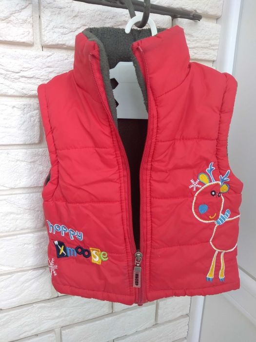 Детская тёплая жилетка Кропивницкий - изображение 1