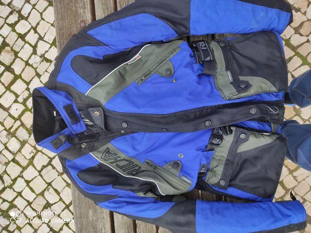 Blusão casaco moto richa