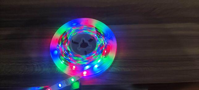 Fita led RGB c/comando