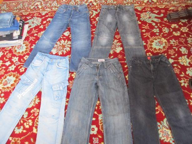 TANIO spodnie jeansy 140 i 146 na chłopca