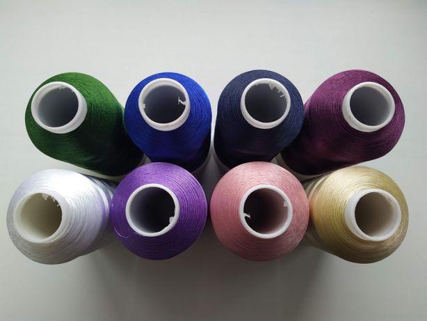 Нитки вышивальные для машинной вышивки 150D/2 5000m
