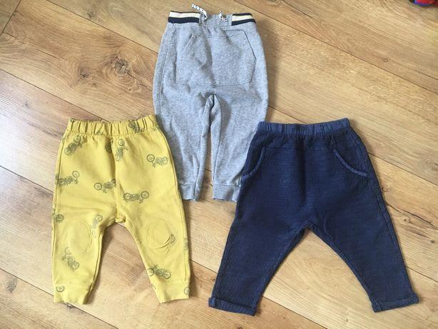 Spodnie dresy legi leginsy Zara rozmiar 86
