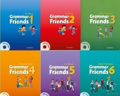 Grammar Friends 1, 2, 3, 4, 5, 6 Граматика