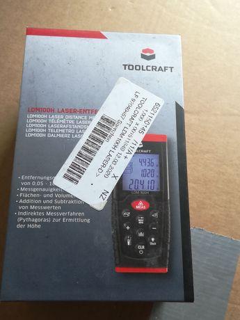 Dalmierz laserowy TOOLCRAFT LDM100H