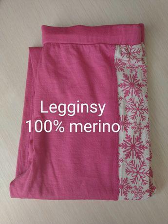 Legginsy 100% wełna merino Dale of Norway