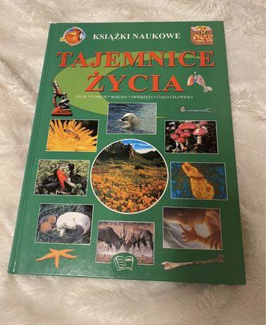 Książka dla dzieci encyklopedia Tajemnice Życia