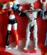 Figurka justice league kinder Harley queen cyborg