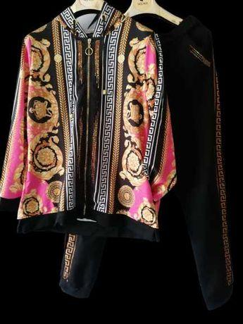 Wikiland Plus Size Rozmiary 44,46,48 DRESY Dres Ornament Grecki wzór