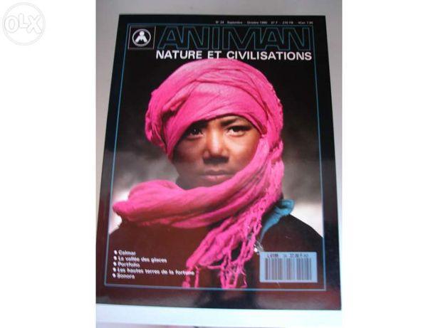 22 Revistas animan, nature et civilisations, novas.