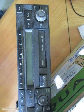 Rádio cassete 6X0035152B VW / POLO / 2002 / BLAUPUNKT / BETA /