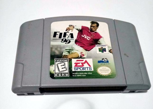 Gra Nintendo 64: Fifa 99 USA/NTSC