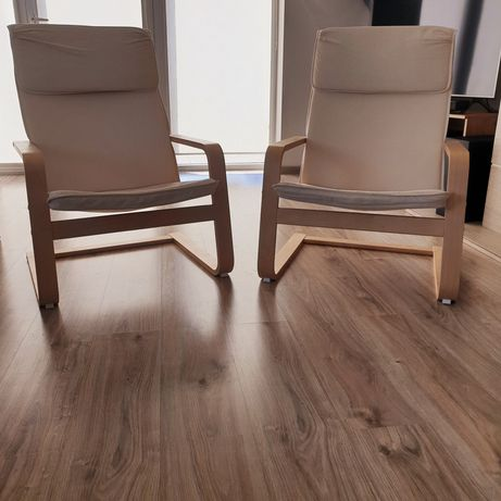 Fotel IKEA PELLO w stylu boho 2szt.