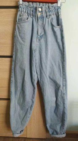 Szerokie spodnie pull and bear 32