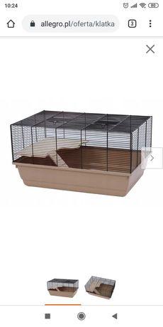 Klatka dla gryzoni chomika myszki szczurka
