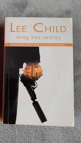Lee Child - Wróg bez twarzy - książka