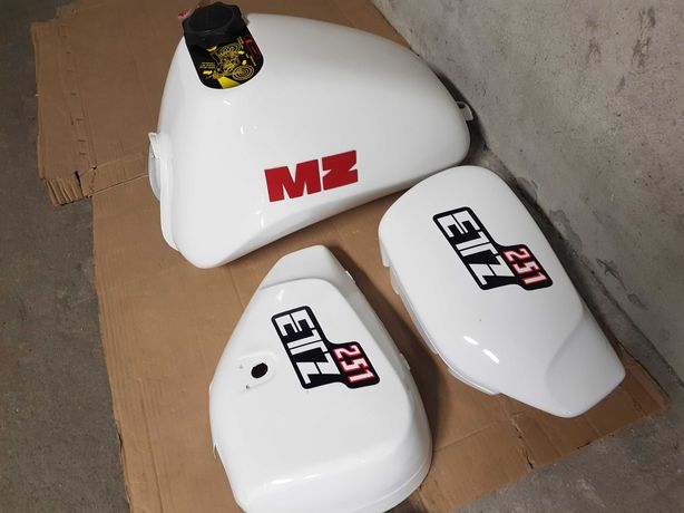Zbiornik paliwa bak MZ ETZ 251 okazja. cały komplet +korek.