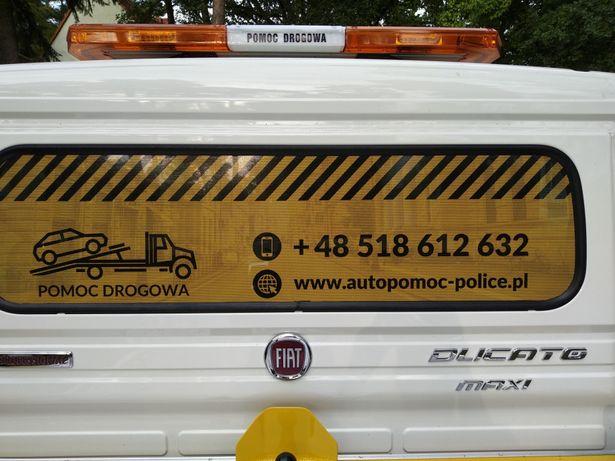 OCP Pomoc drogowa holowanie laweta Police Szczecin