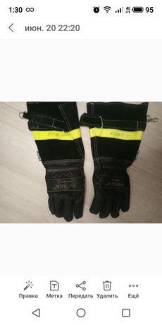 мотоперчатки кожаные